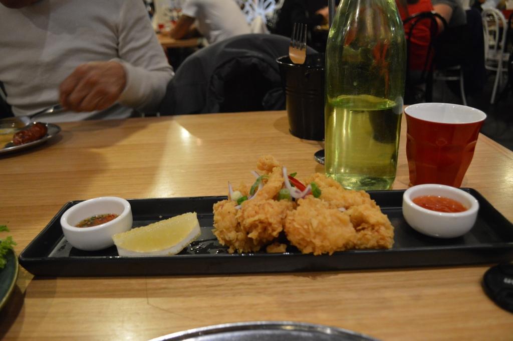 Salt and Pepper Calamari ($16.90)