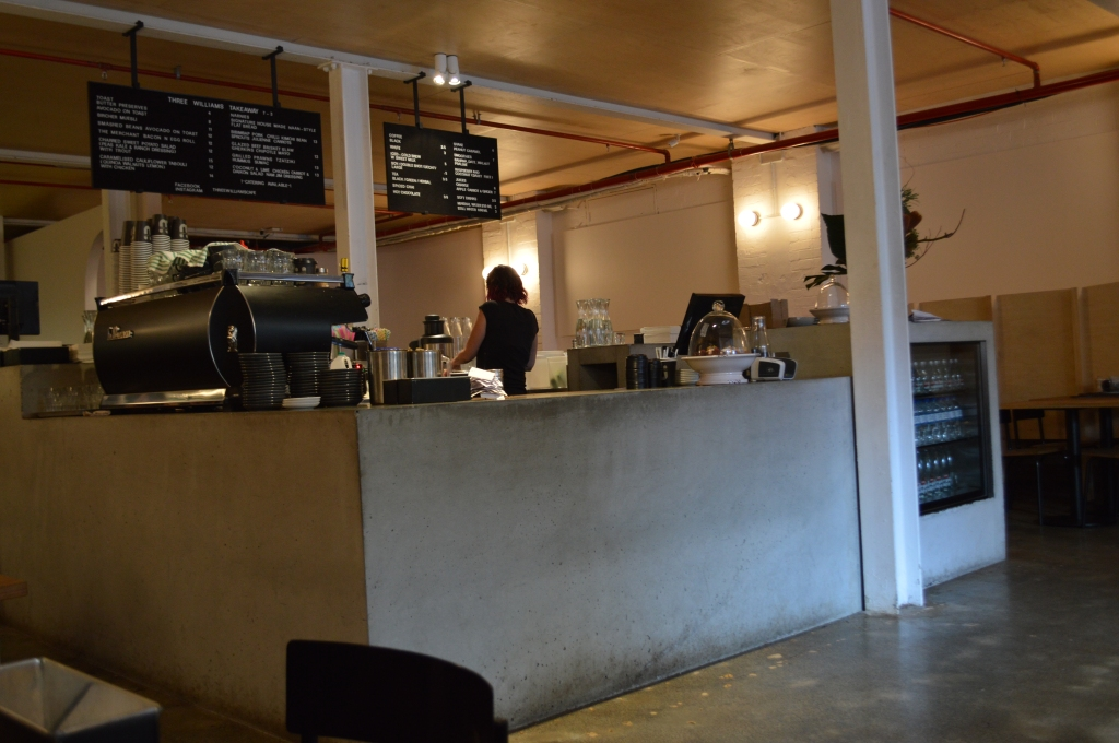 Center of Three Williams Cafe