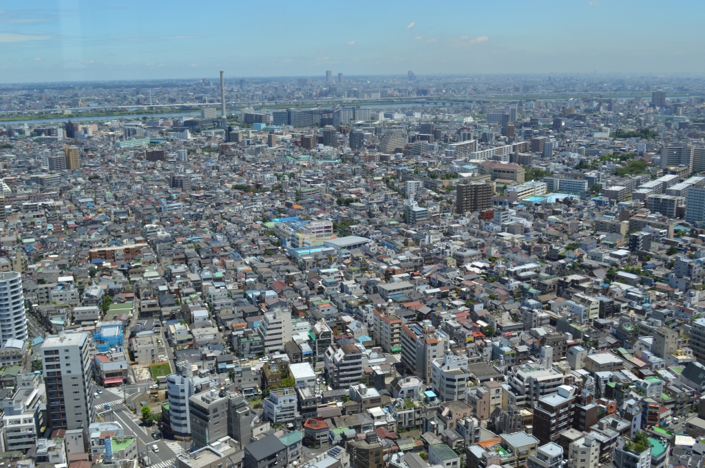 View from Oshiage Skytree Tower
