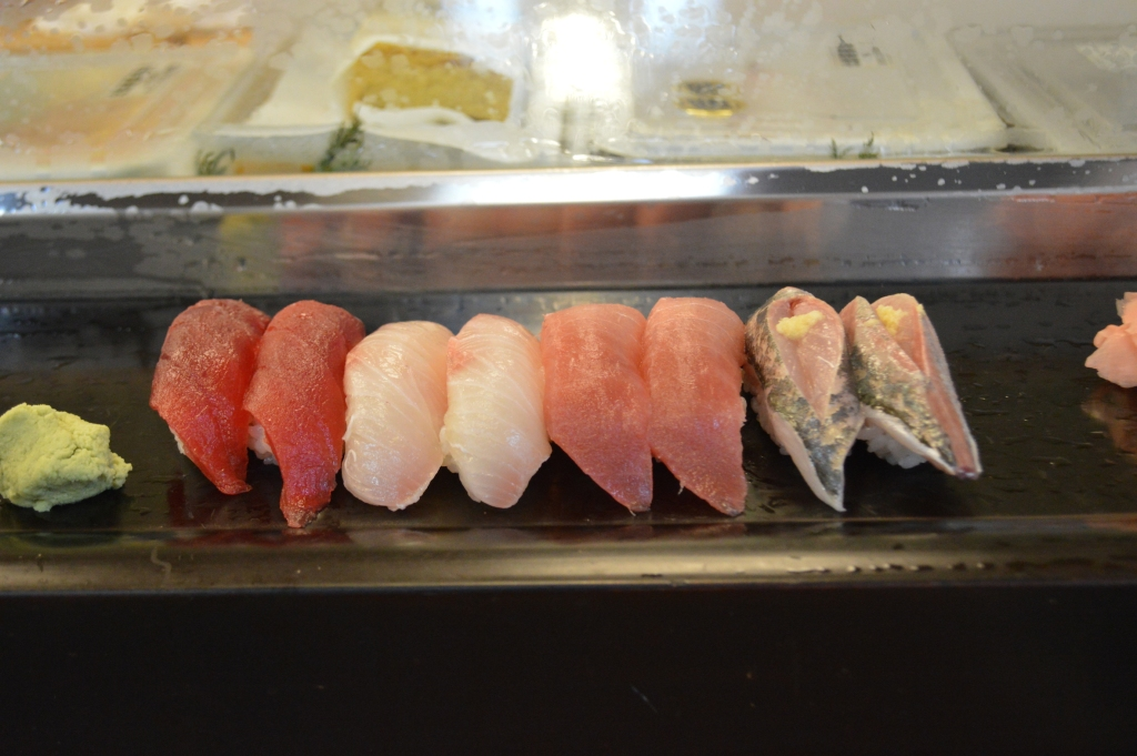 The freshest sushi I ever ate in my life