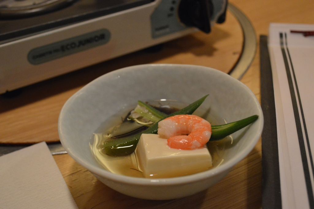 Complimentary side of tofu