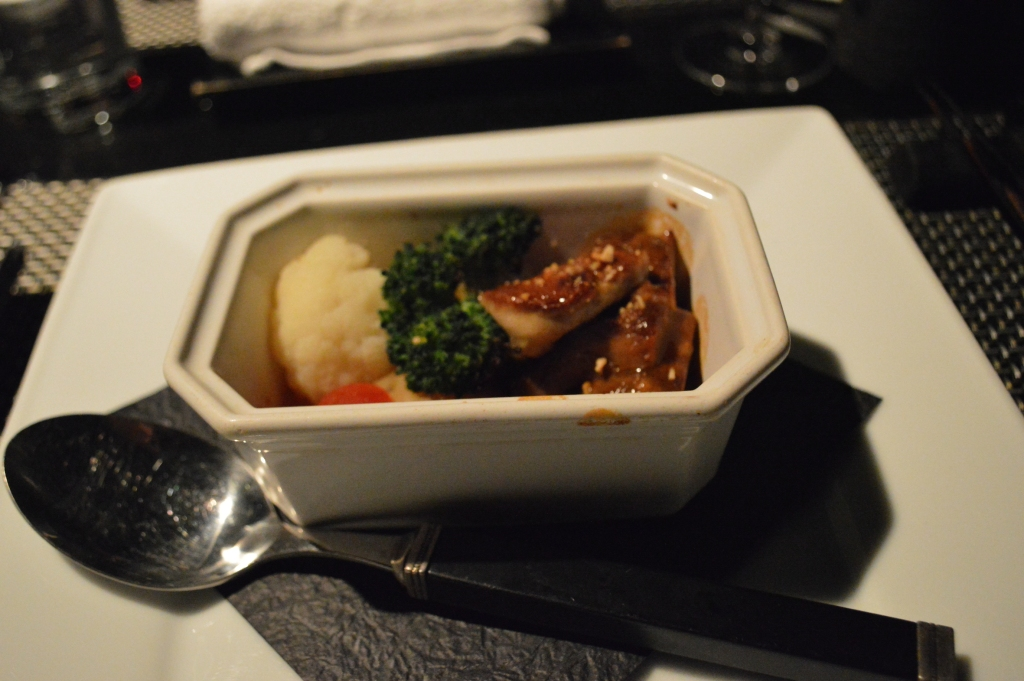 Ninth course: the meat specialty