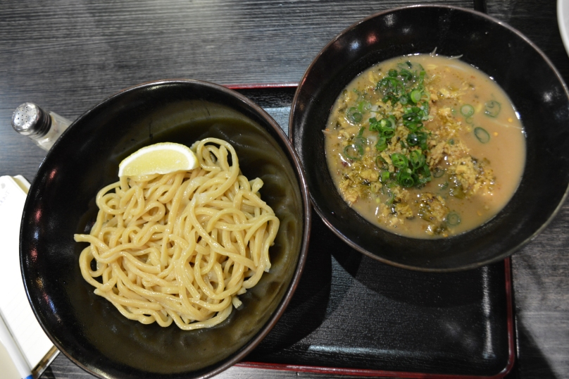 Birds eye view of the Tsukemen Original