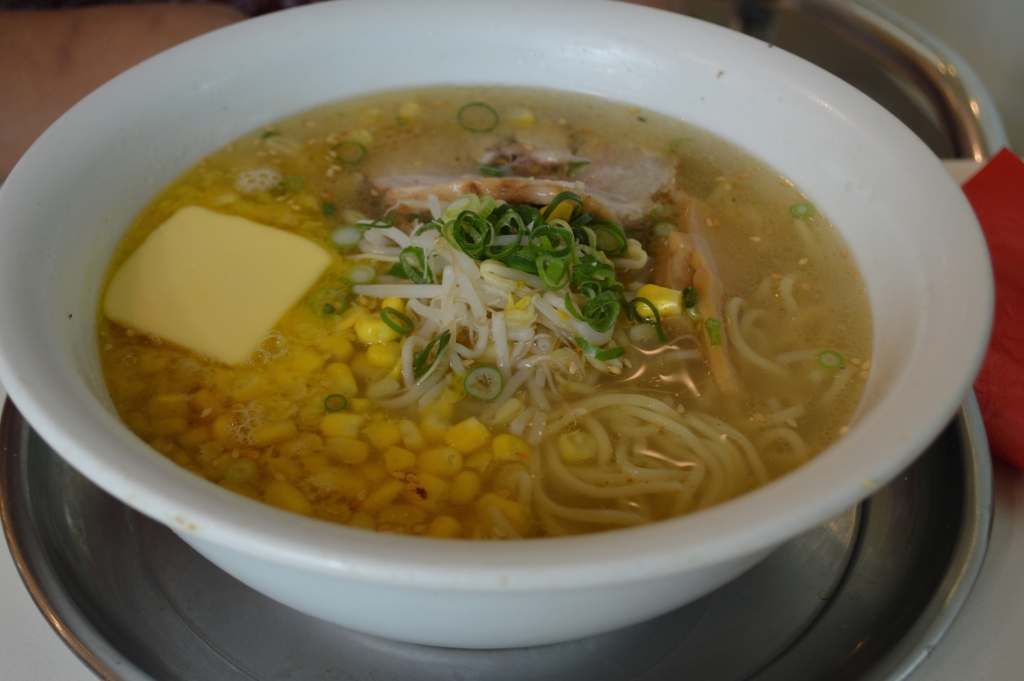 Shio Butter Corn Ramen ($11.90) delicious and satisfying