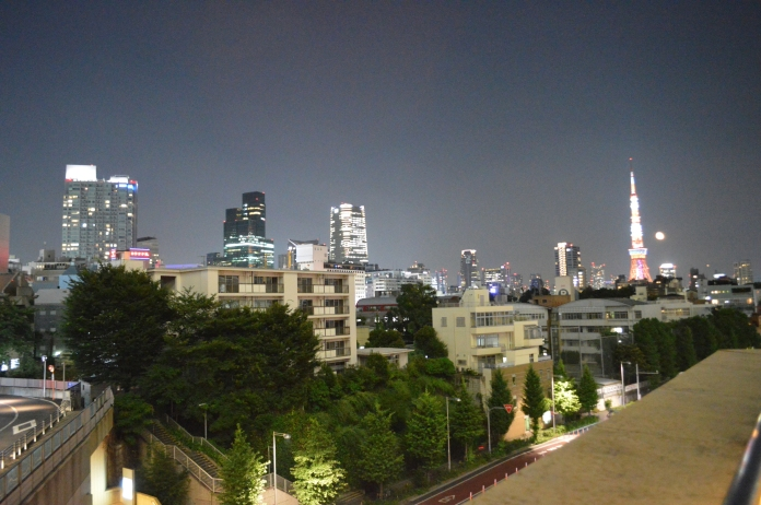 Tokyo Tower in the distance