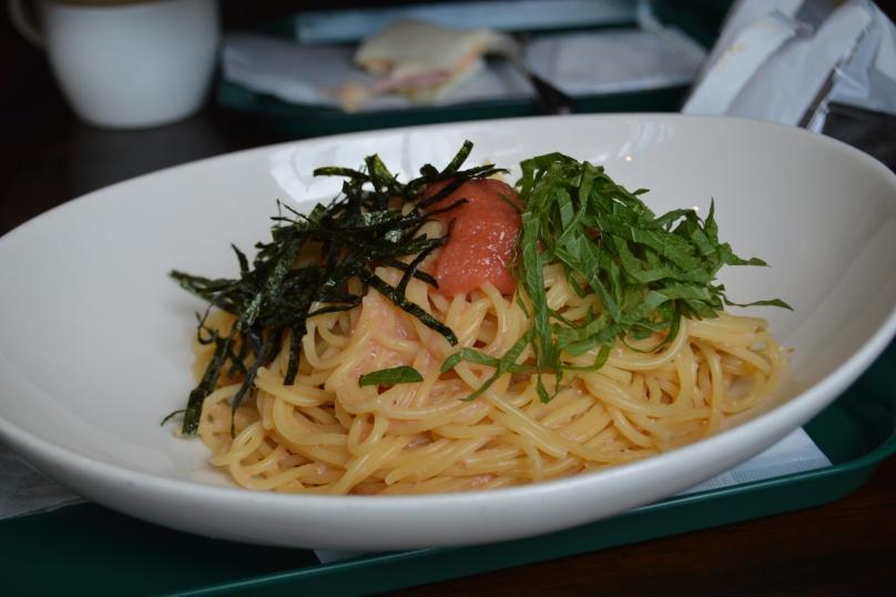 Spicy Cod Roe Pasta
