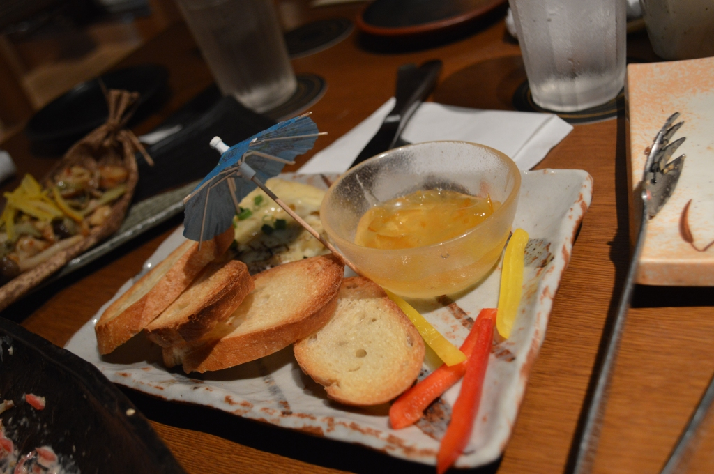 Straw-grilled camembert Y780
