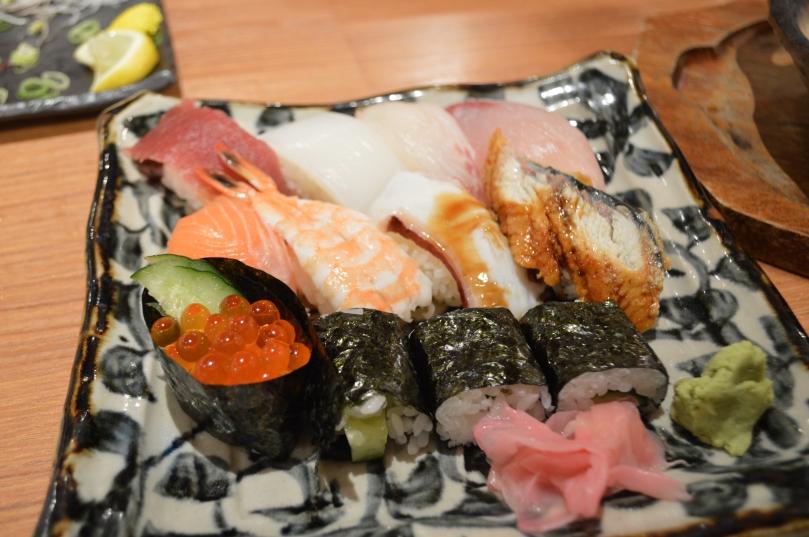 Life lessons from traveling- do not eat sushi at a kushikatsu restaurant