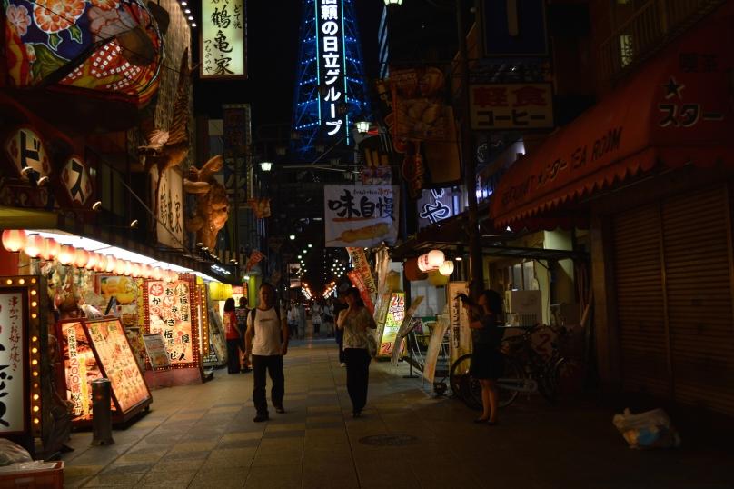 Walking around Shinsekai