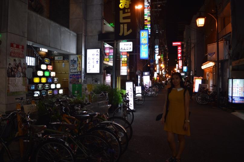 In an Osaka laneway