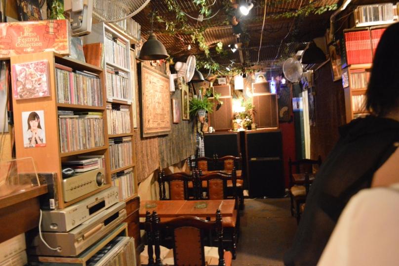 Interior of the jazz bar