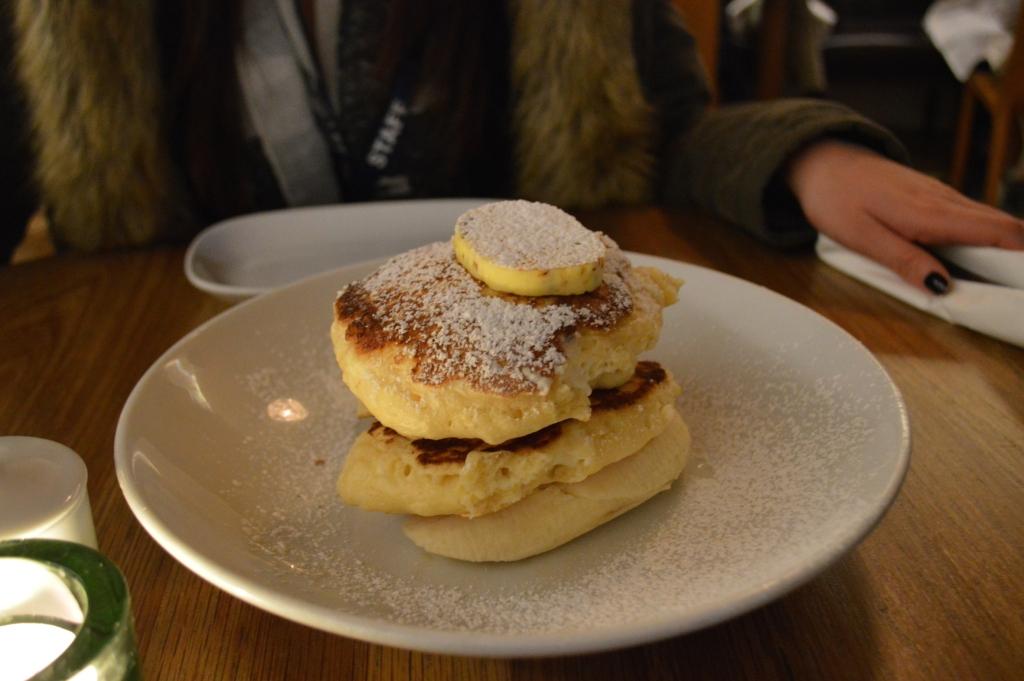 Ricotta pancakes from Bills