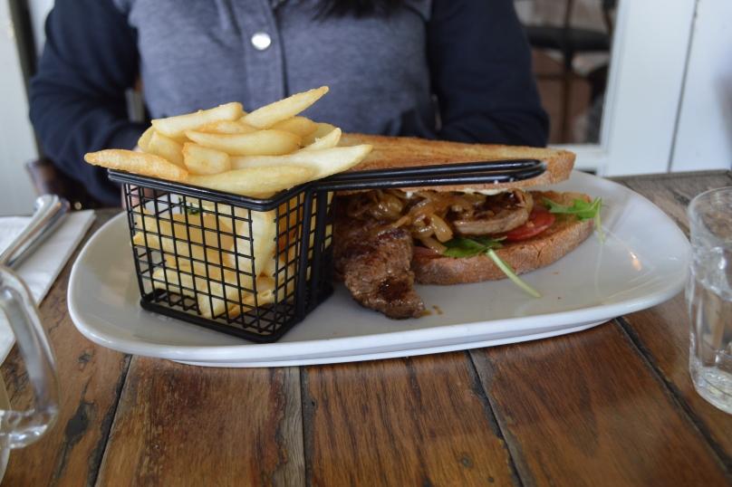Steak Sandwich ($20)