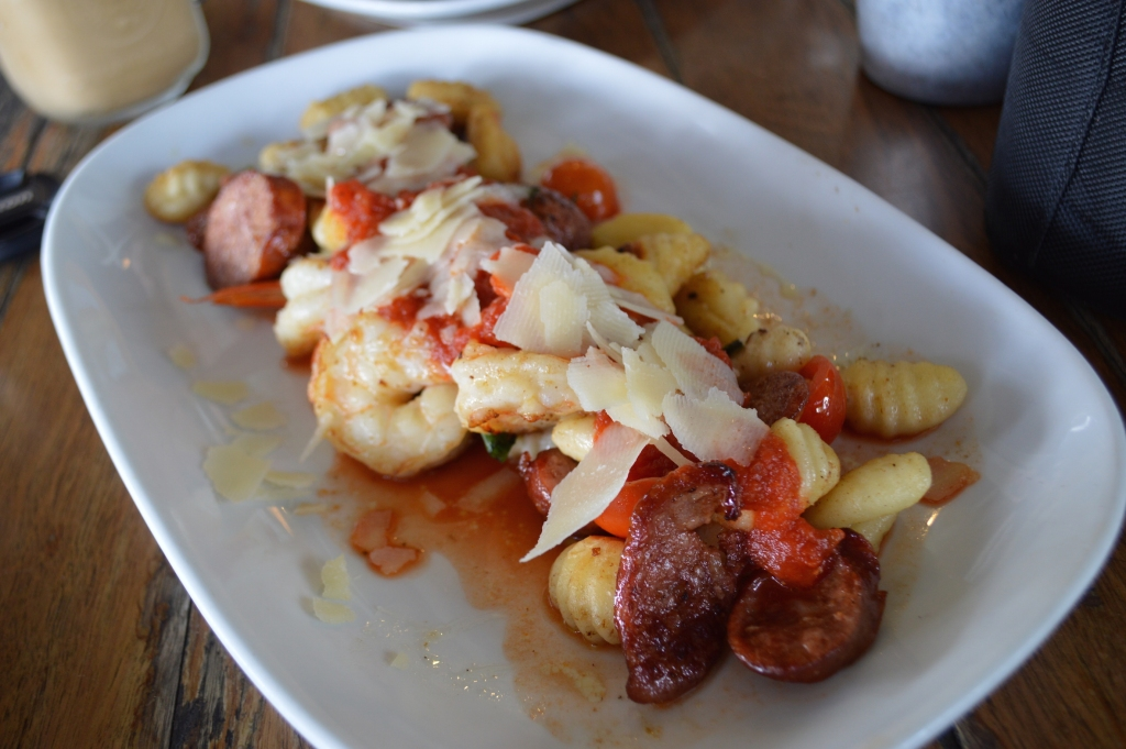 Pan Fried Gnocchi with Chorizo ($24.9)