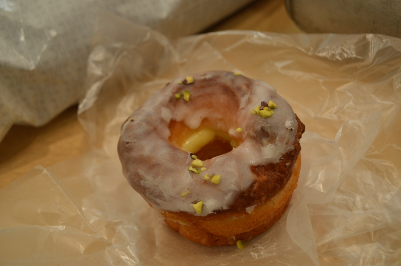 Glazed lemon cronut- the first cronut I ever ate, at Umeda station