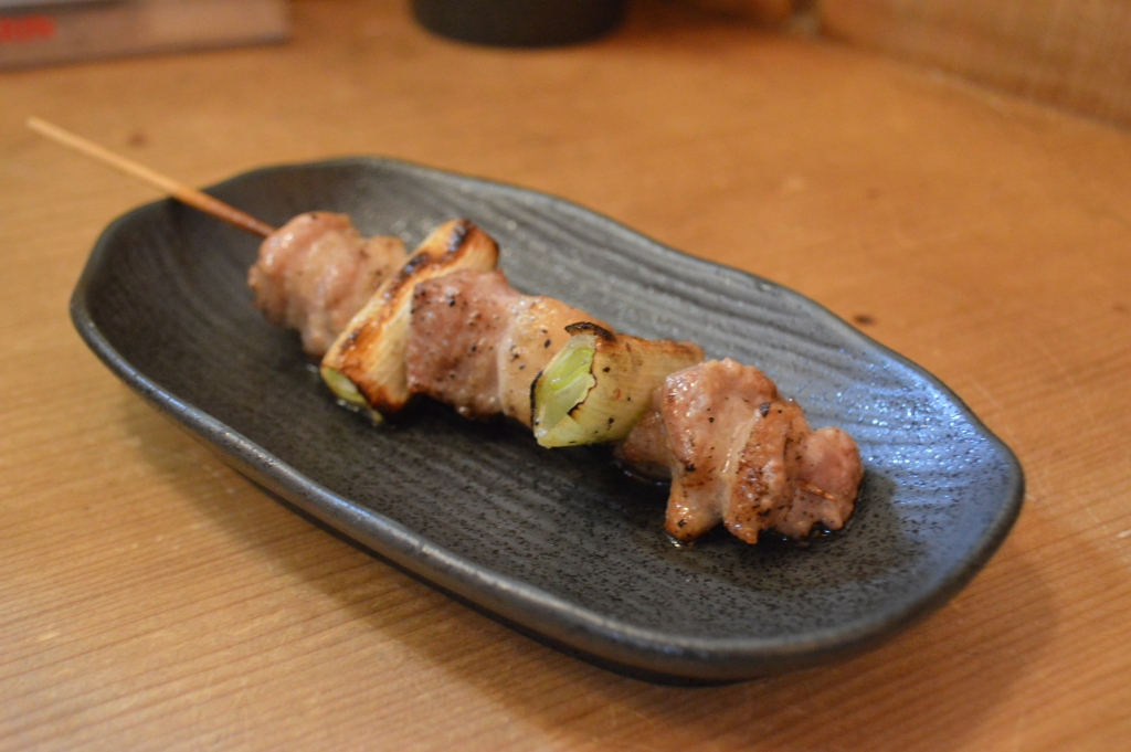 Negima- chicken thigh with onions
