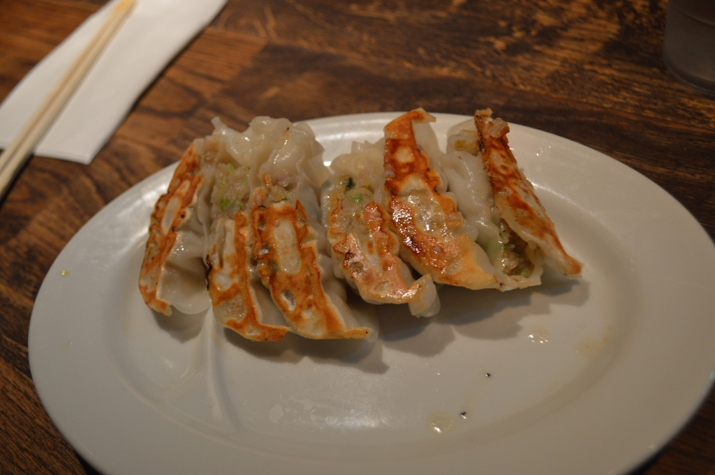 The best gyoza I ate in my life