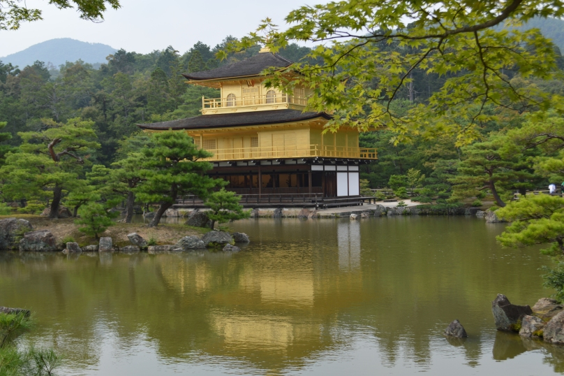 Kinkaku-ji- the Golden Shrine