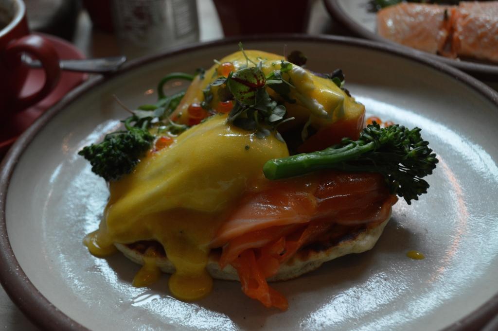 Eggs Blini ($19)