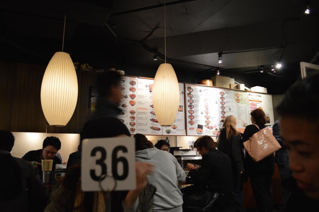 Diners at Menya