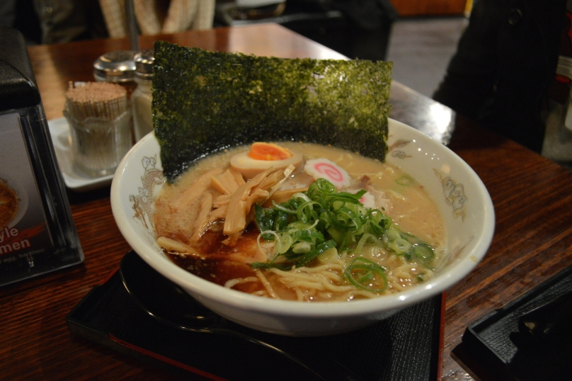 Black Garlic Ramen ($11.90)