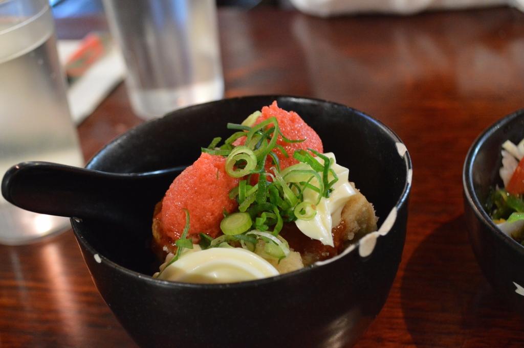 Teriyaki Mentaiko Tofu ($3.00)