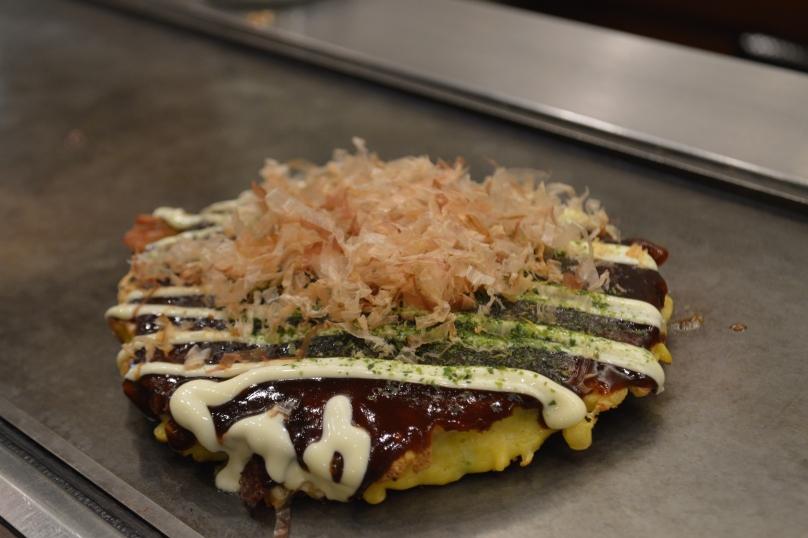 Our ready made Squid Okonomiyaki
