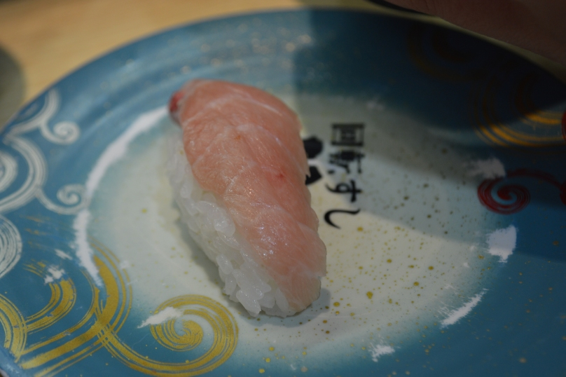 Fatty tuna was only available for one piece per plate