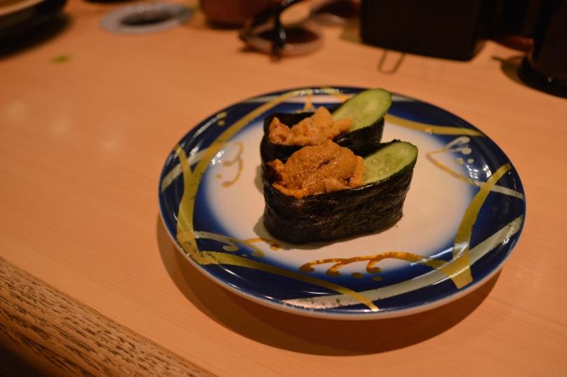 Sea urchin and cucumber