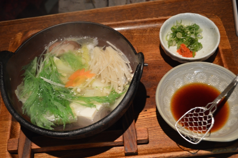 Nabe- Japanese hotpot