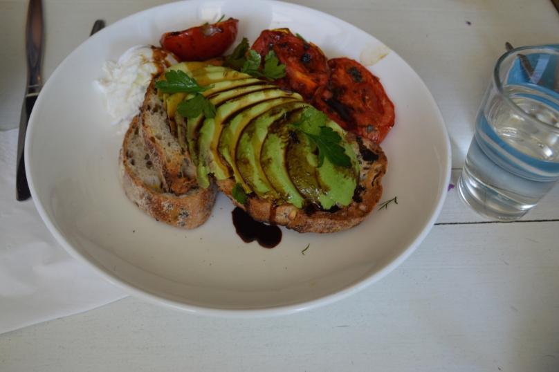 Avocado and Roast Tomato ($16.50)