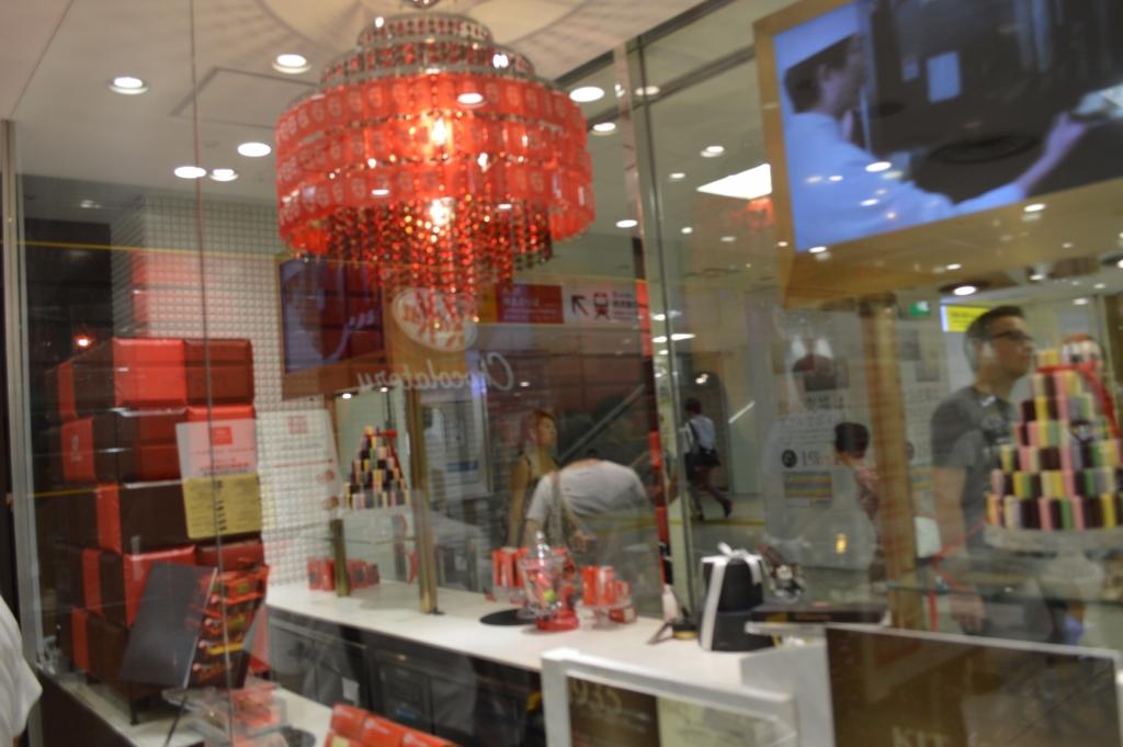 Inside the Kit Kat Chocolatery at Seibu Department store, Ikebukuro