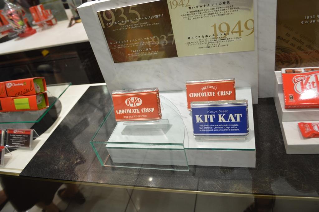 Kit kats through time