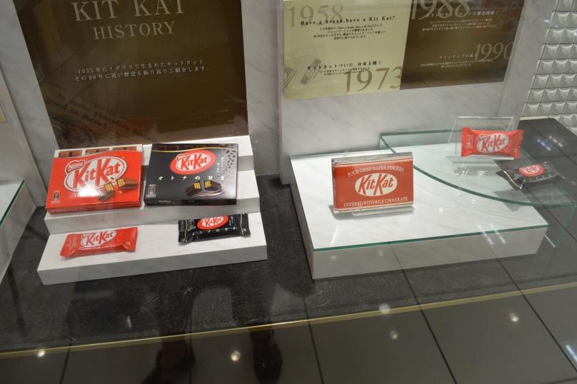 More Kit Kats through time