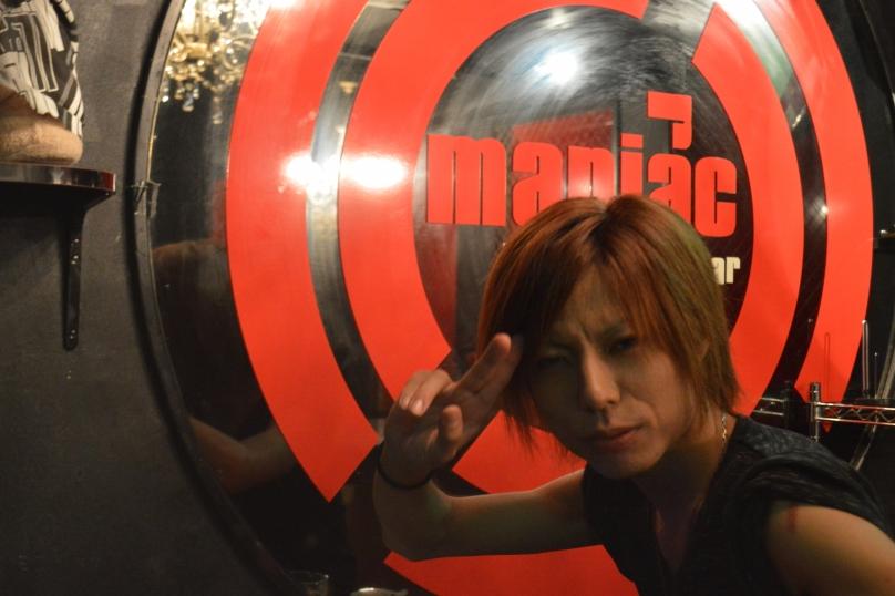 One of the most hilarious bartenders we met in Japan