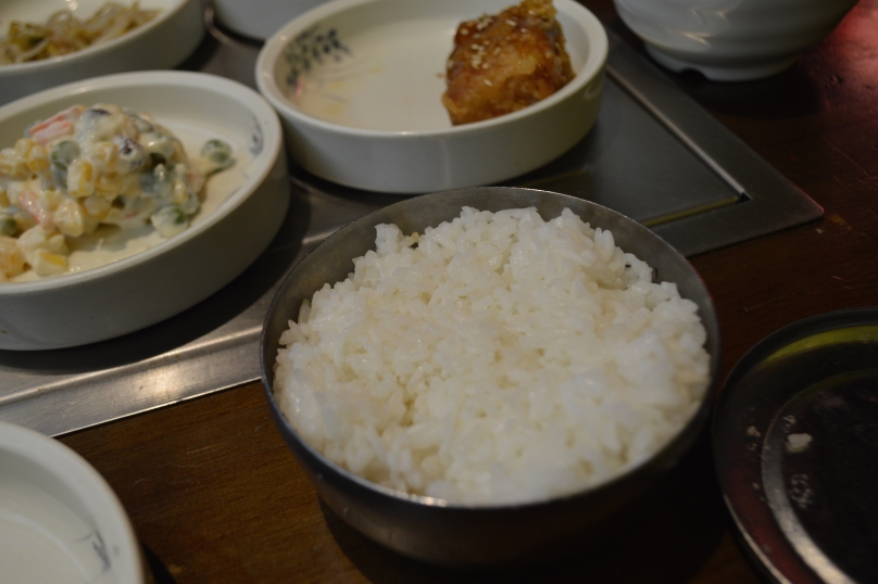 Perfectly steamed rice
