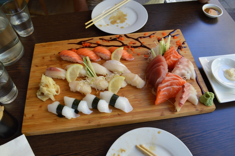 Sushi and Sashimi Main
