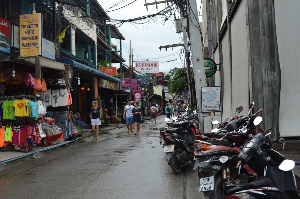 Streets of Fisherman's Village, Koh Samui