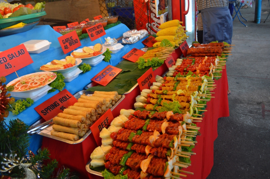 Night markets in Chaweng, Koh Samui