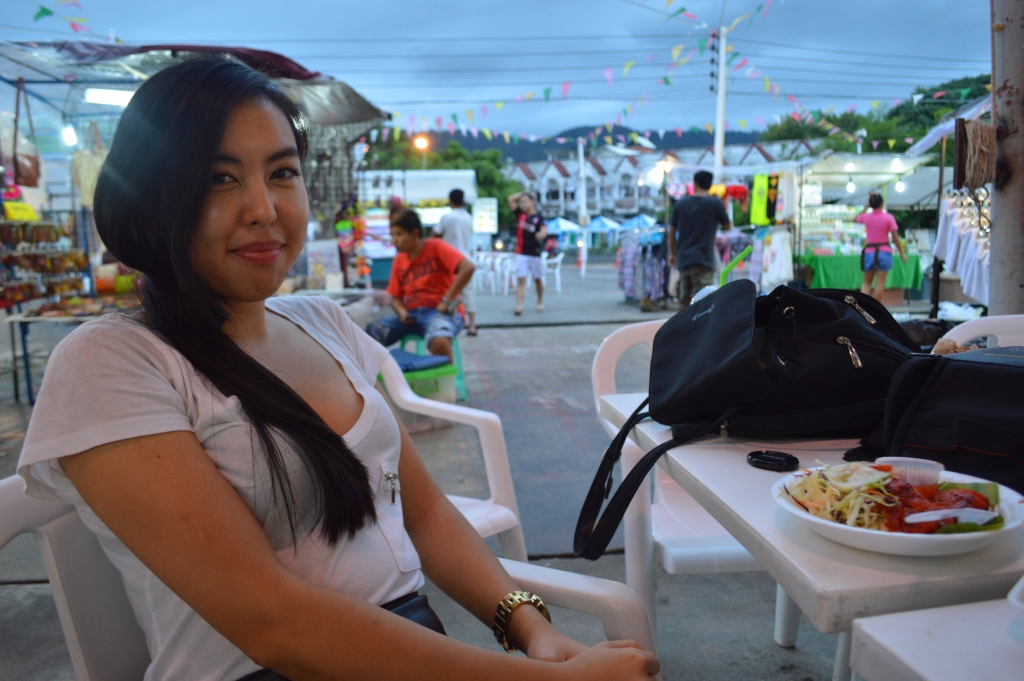 Dinner at Chaweng Night Markets