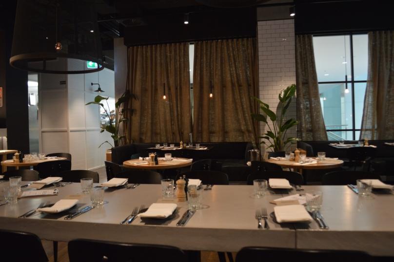 Bowery Lane's dining room
