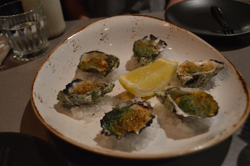 Oysters Kilpatrick ($23 for half a dozen)