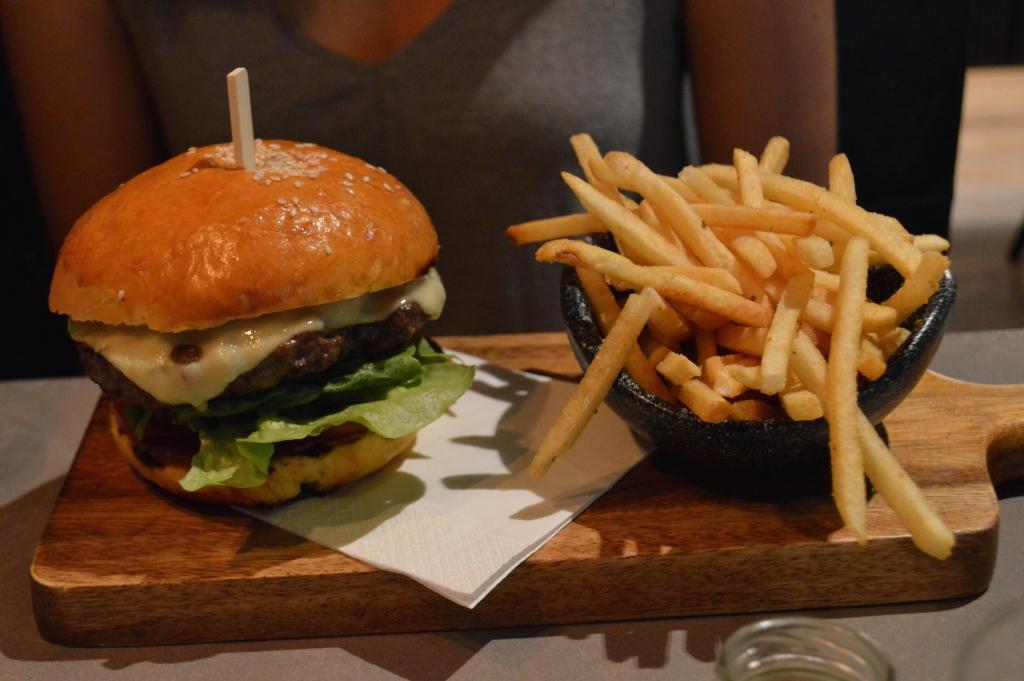 New York Cheeseburger ($20)