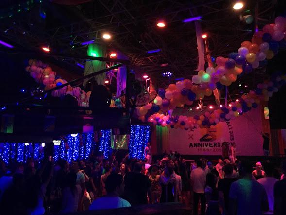 Main room of Green Mango nightclub, Koh Samui