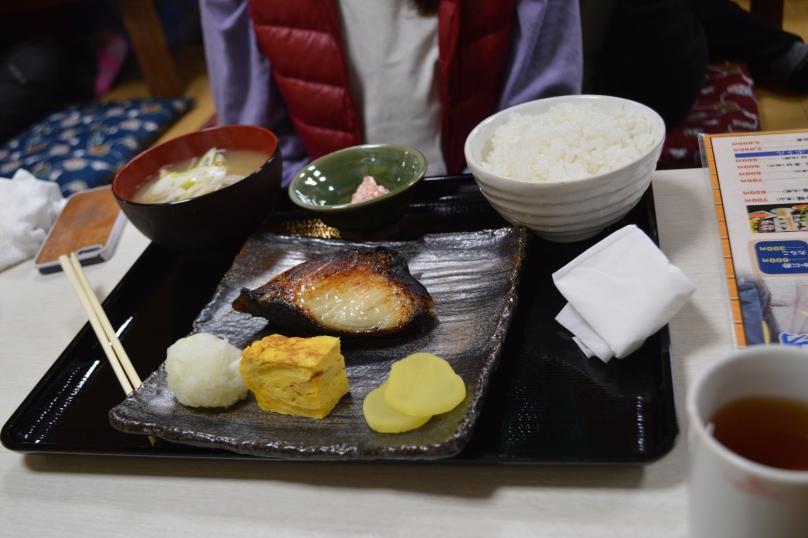Bonnie's teishoku meal