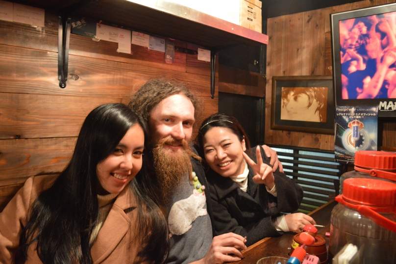 Drinking in Golden Gai- another of my favourite spots