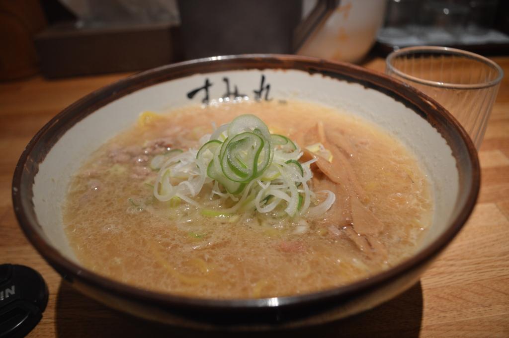 Miso ramen at Sumire, Susukino, Sapporo