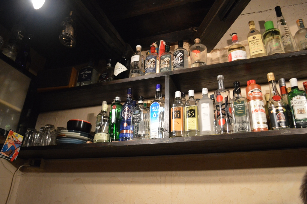 Range of liquor at Kangaroo Court