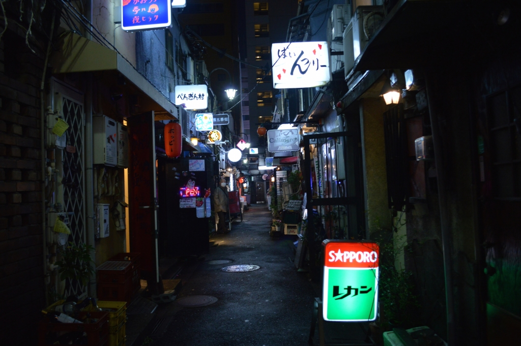 Lane ways of Golden Gai, Shinjuku