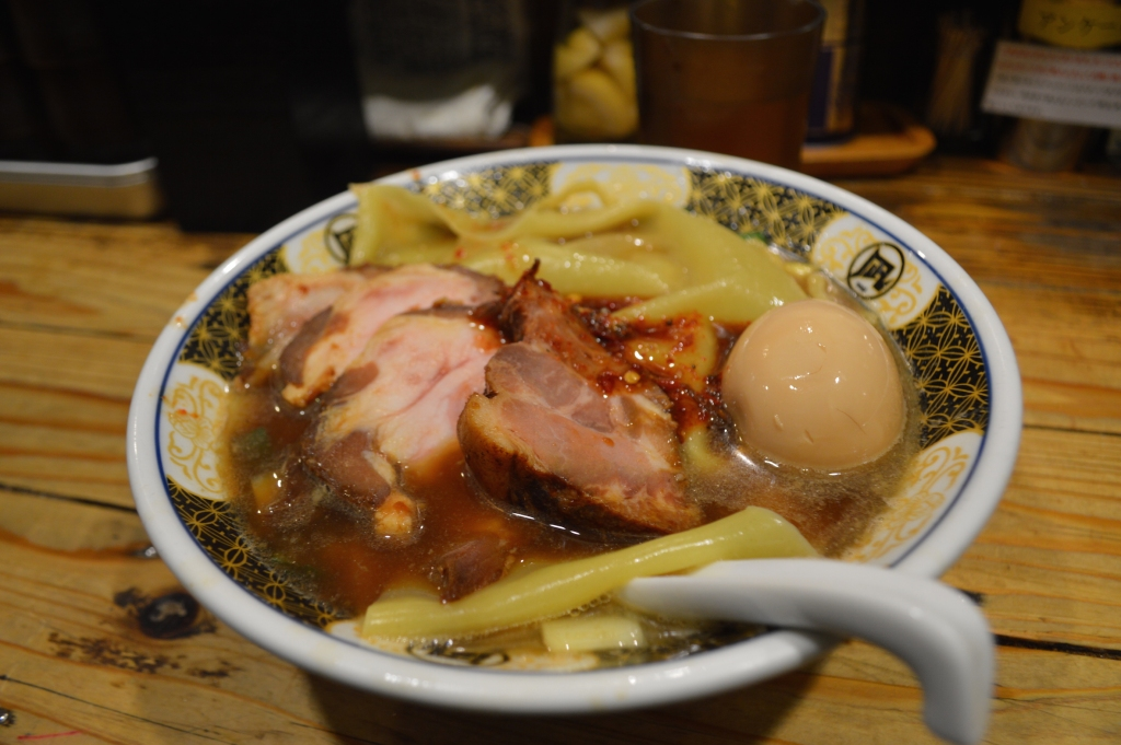 Fish ramen at Nagi
